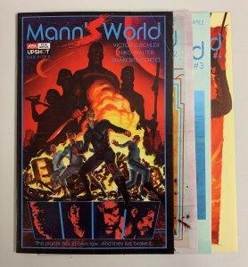 Mann's World #1-4 Set (AWA 2021) 1 2 3 4 Victor Gischler (8.5+)