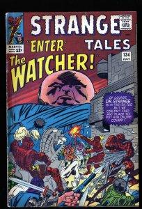 Strange Tales #134 VG/FN 5.0 The Watcher!