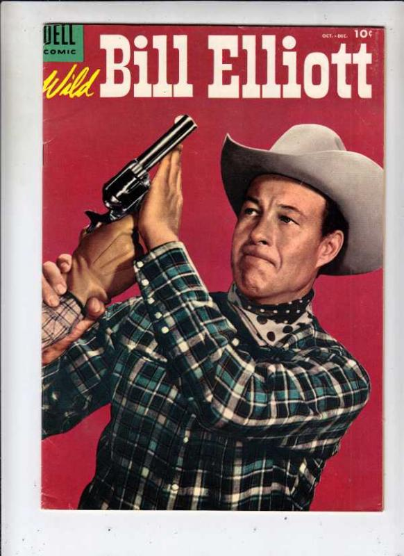 Wild Bill Elliott Comics #15 (Oct-54) VF High-Grade Wild Bill Elliott