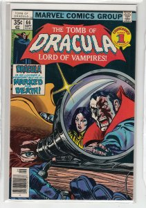 TOMB OF DRACULA (1972 MARVEL) #66 VG A13299