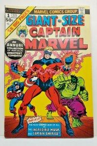Giant-Size Captain Marvel #1 VF/NM (1975) Stan Lee , Roy Thomas