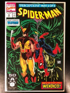 Spider-Man #9 - Wolverine Cover - NM