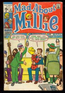 MAD ABOUT MILLIE #12 1970-MARVEL COMICS-CHILI APPEARS G/VG