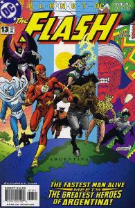 Flash (2nd Series) Annual #13 VF/NM; DC   save on shipping - details inside