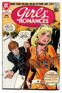 GIRLS' ROMANCES #156-D.C. ROMANCE-SILVER AGE-comic book