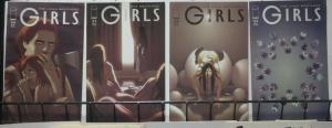 GIRLS (Image, 2005) #20,21,22,23 VF-NM. Jonathon & Joshua Luna.  Modern Classic