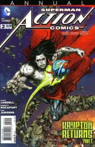 Action Comics (2nd Series) Annual #2 VF; DC | save on shipping - details inside
