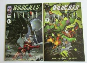Wildcats/Aliens #1 Regular & Variant Issue VF/NM Dark Horse & Image Comics 1998