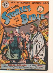 Picture Stories from the Bible: New Testament Edition #3, Fine- (Actual scan)