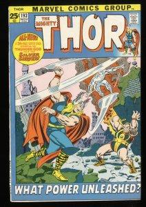 Thor #193 FN 6.0 Marvel Comics