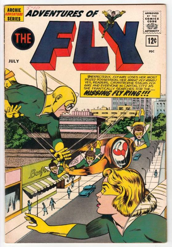 Adventures of the Fly #20 (Jul-62) VF- High-Grade The Fly, Fly-Girl