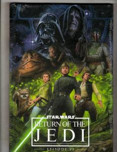Star Wars Ep 6 Return Jedi Marvel Comics Graphic Novel Comic Book HARDCOVER J352