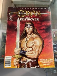 Marvel Super Special 35 Conan Destroyer FN/VF