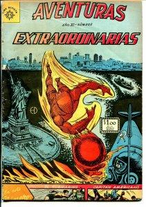Aventuras Extraordinaries #202 1962-Mexican edition-Young Men #25-Capt America-G