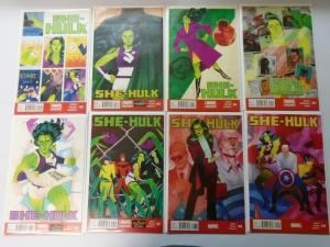 She-Hulk Lot (2nd + 3rd Series), 44 Different 8.0/VF (2006-2015)