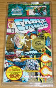 Treat Pedigree Collection: Cable VF/NM blood & metal - new mutants 87 (2nd)