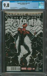 Surperior Spider-Man #22 CGC Graded 9.8 Venom Appearance