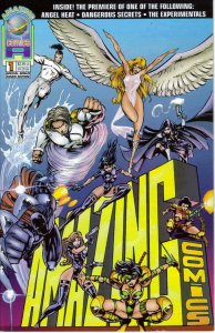 Angel Heat: The Ninth Order #1A FN; Amazing Comics Group   save on shipping - de