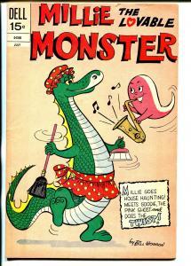 Millie The Lovable Monster #4 1972-Dell-wacky humor-Bill Woggon-FN+