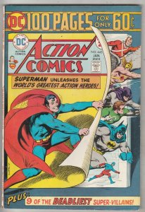 Action Comics #443 (Jan-75) NM- High-Grade Superman