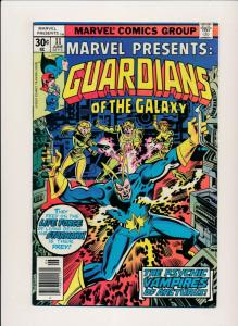 Marvel Presents GUARDIANS OF THE GALAXY #11 June 1977 FINE/VERY FINE (PF384)