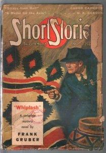 Short Stories 3/25/1941-pulp adventure-Whiplash-Frank Gruber-WWII era-G