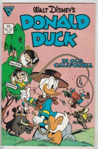 Donald Duck #254 (Jun-87) NM- High-Grade Donald Duck