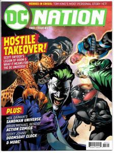 DC Nation #3 Sandman Universe / Doomsday Clock (2018) NM