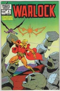 Warlock #4 Jim Starlin Bronze Marvel 1¢ AUCTION! No Resv! SEE More!