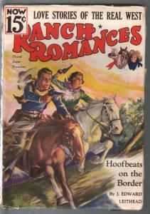 Ranch Romances 6/26/1936-Hoofbeats on The Border-GGA-pulp thrills-FN-