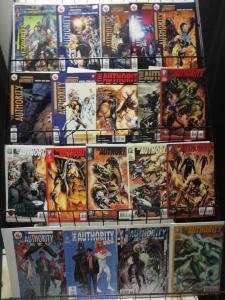 DC COMICS Authority Lot of 19 various vols Millar Morrison Quietly Adams F-VF/+