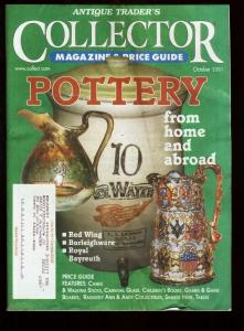 ANTIQUE PRESS COLLECTOR PRICE GUIDE 2001 OCT-INFO VG