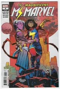 Magnificent MS Marvel # 4 Cover A NM Marvel
