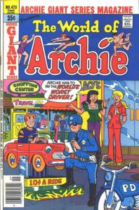 Archie Giant Series Magazine #473 FN; Archie   save on shipping - details inside