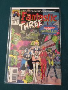 Fantastic Four #382 Prisoners of the SKRULLS!