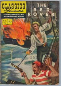 Classics Illustrated 114 (original) Dec 1953 VG- (3.5)