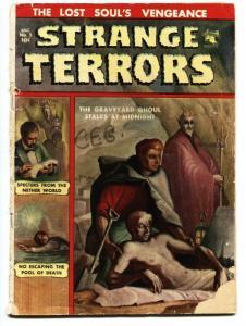 STRANGE TERRORS #5-KUBERT PRE CODE HORROR-GHOST-DEMON-1952-PCH