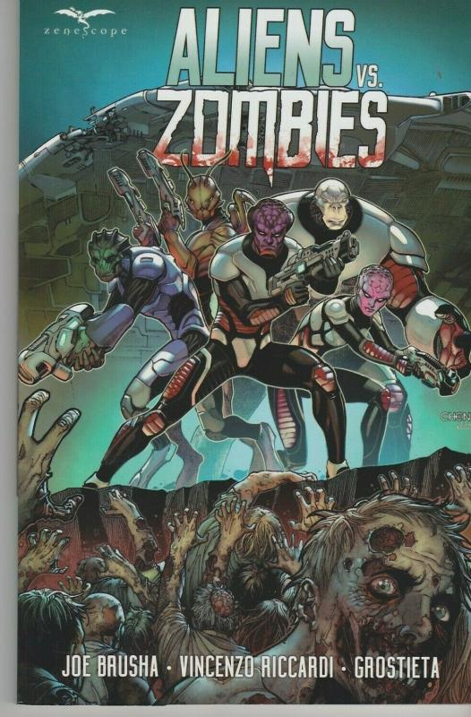 Aliens vs Zombies Trade Paperback TPB Zenescope