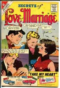 Secrets of Love and Marriage #21 1960-Charlton-exotic issue-spicy romance art-VG