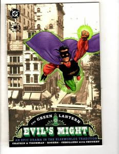 5 Green Lantern Graphic Novels Evil's Might 1 2 3 Legend Flame Bright Day BN MF6