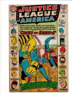 Justice League Of America # 38 FN- DC Silver Age Comic Book Batman Flash  J371