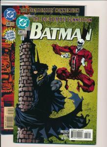 BATMAN #530 ~ The Deadman Connection ~ Both Covers DC 1996 NM (PF453) 2 Comics