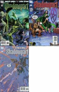 SHADOWPACT 17-19 Darkness And Light 3-part story!