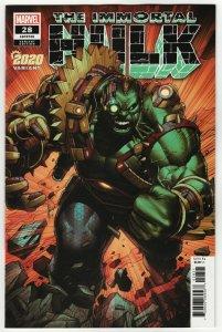 Immortal Hulk #28 Keown 2020 Variant (Marvel, 2020) NM