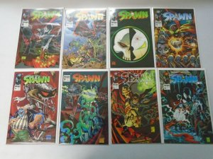 Spawn comic lot 15 different from #8-24 avg 8.0 VF (1993-94 Image)
