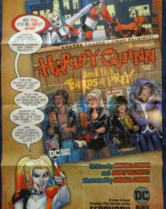 HARLEY QUINN AND THE BIRDS OF PREY Promo Poster, 24 x 36, 2019, DC Unused more i