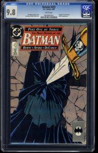 Batman #433 CGC NM/M 9.8 White Pages