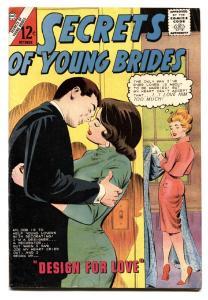 SECRETS OF YOUNG BRIDES #44-CHARLTON-Beatles ad-1964