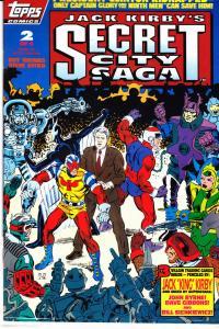 Jack Kirby's Secret City Saga #2
