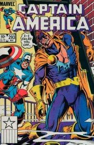 Captain America #293 stock photo ID#B-1